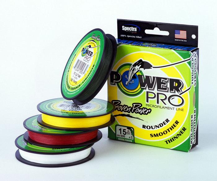 Плетеный шнур (плетенка) Power Pro.