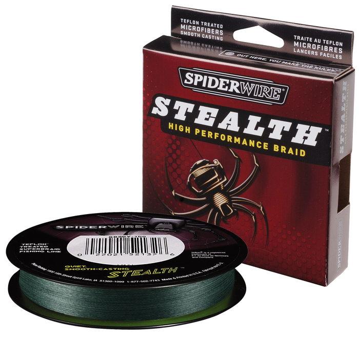 Плетеный шнур (плетенка) Spider Wire.