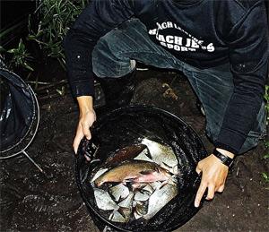 Ночная рыбалка на фидер не только интересна, но и результативна.