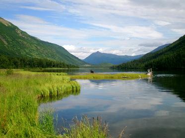 Мое открытие Аляски - рыбалка на водоемах Аляски.