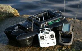 Радиоуправляемый катер для доставка прикормки
