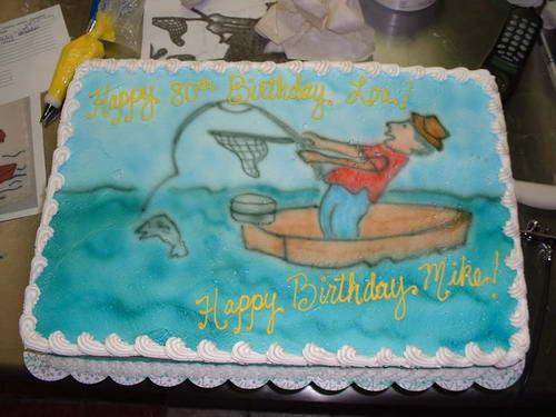 Торты для рыбаков.