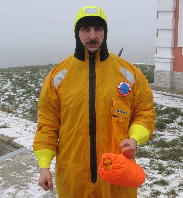 испытания нового костюма для зимней рыбалки
