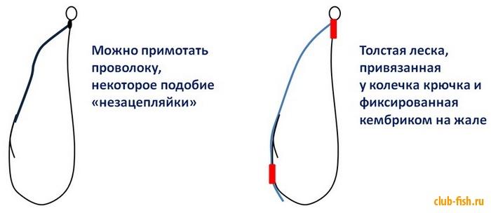 Как сделать рыболовный тройник видео - Septikblog.ru