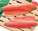 Маринованный в лайме лосось или форель
