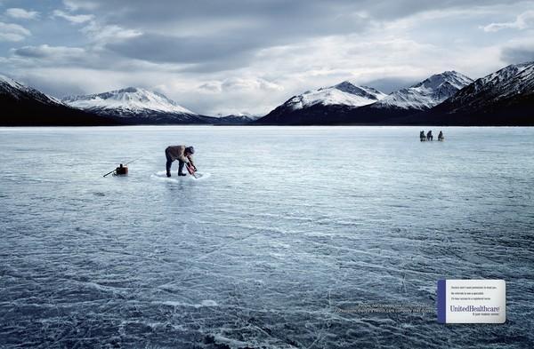 Рыбалка и рекламный креатив - подборка фото.