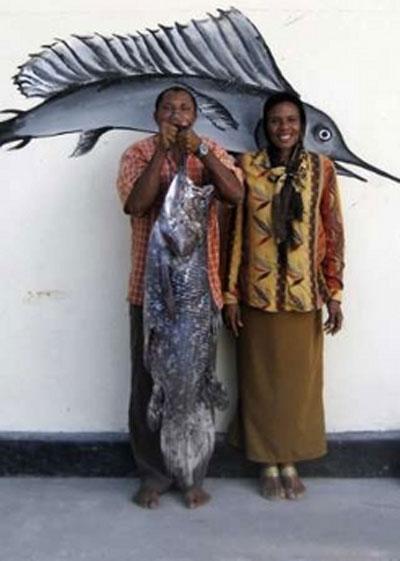 рыба из группы кистеперых