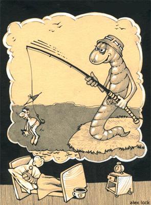 рыбацкие рисунки
