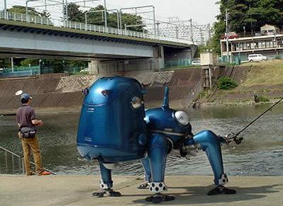 робот рыбак