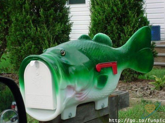 почтовый ящик рыбака
