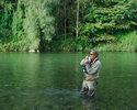 Рыбалка на перекате - Ловля рыбы взабродку