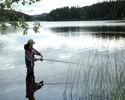 Ловля рыбы спиннингом на силиконовые приманки нестандартным способом.