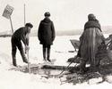 Как промышляли подледным ловом рыбы наши далекие предки.