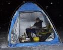Зимняя ночная ловля леща