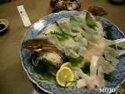 Суши из живой рыбы