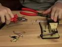 Изготовление поводков для небольших воблеров - видео урок онлайн.