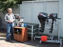 Если вы приобрели лодочный двигатель - О рыбалке всерьез - видео.