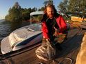 Диалоги о рыбалке - Таежный ручей - видео.