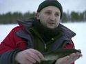 Ловля форели и хариуса в Швеции - видео.