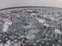Миннесота. Зимняя рыбалка. 30 тысяч лунок - видео.