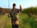 Ловля щуки и окуня спиннингом на прудах осенью - видео.