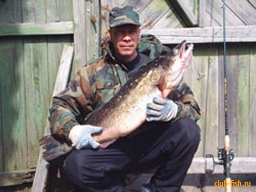 cудак 9 кг река молога