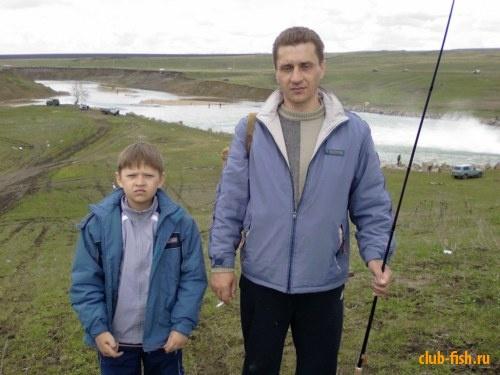 Кум с сыном Максом