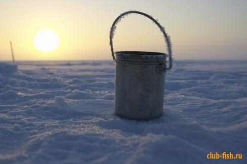 Рассвет, мороз, котелок ...2