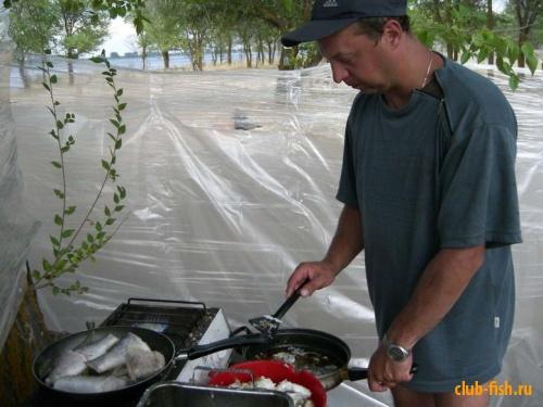 Приготовление улова